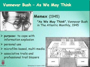 vannevar bushs 1945 essay