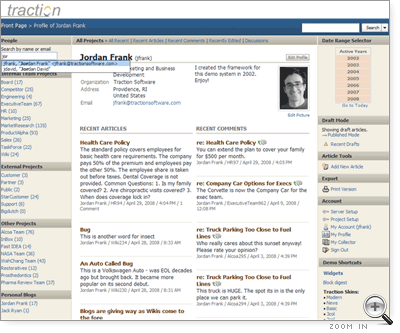 Profile Page